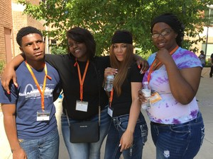 Teens from confluence academy